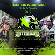 Tradition is Growing – Varsity 2019
