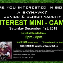2018 Interest Mini-Camp