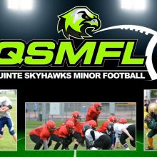 Quinte Skyhawks Minor Football League