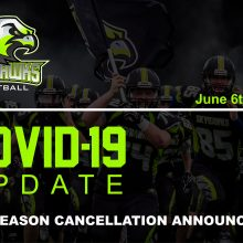 2020 Season Cancelled Due to COVID-19